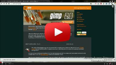 Установка и интерфейс программы GIMP