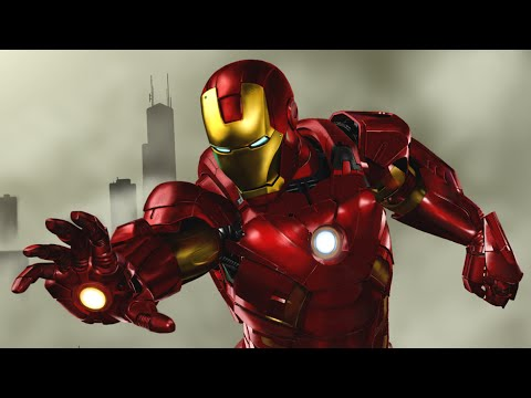 Iron Man (GIMP Speed Painting)