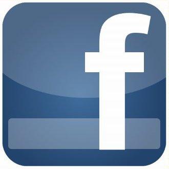 как нарисовать иконку социальной сети facebook в gimp