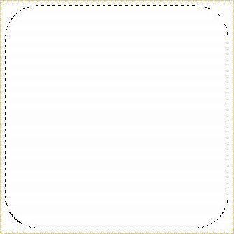 основа иконки логотипа facebook в gimp