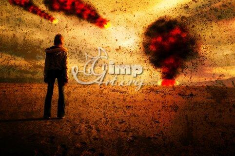фотообработка в gimp - апокалипсис