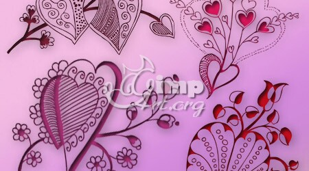 4-valentine-floral-heart-brush