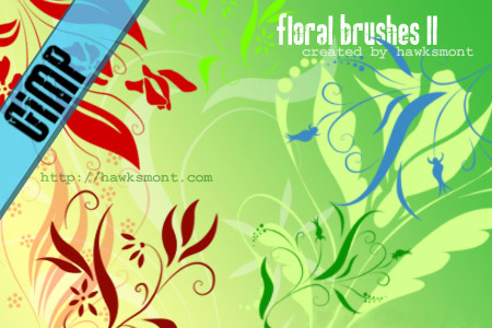 GIMP__Floral_II_by_hawksmont