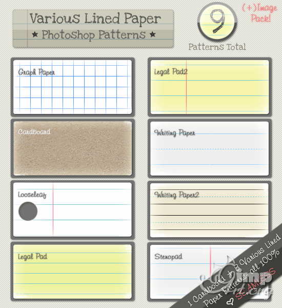 02_Lined_Paper_Patterns_by_kittenbella