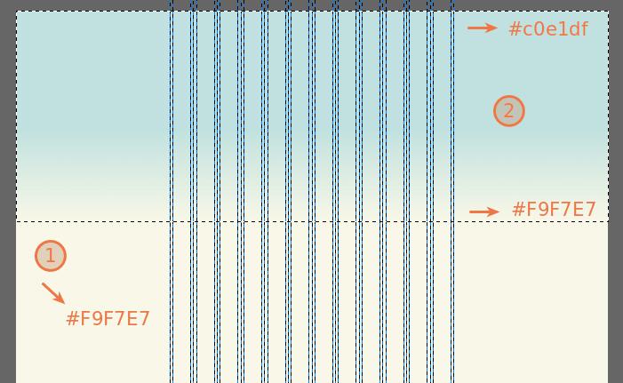Дизайн сайта в GIMP. Изображение 1.1