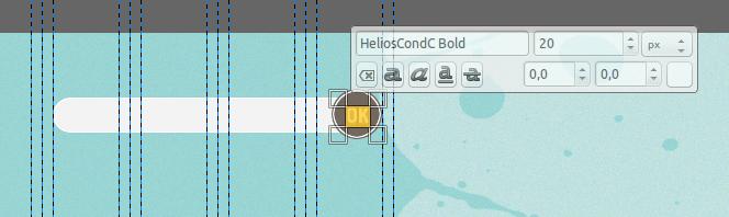 Дизайн сайта в GIMP. Изображение 6.1