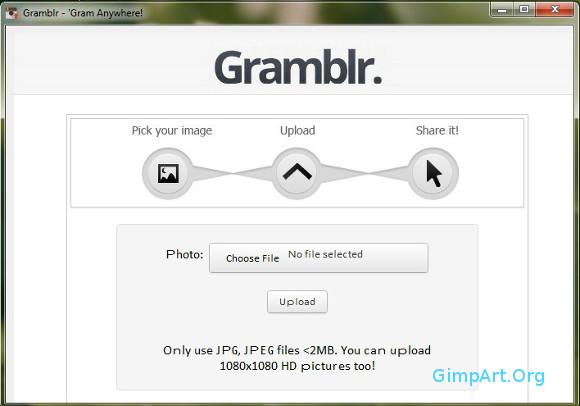 как загрузить фотографии в инстаграм с компа