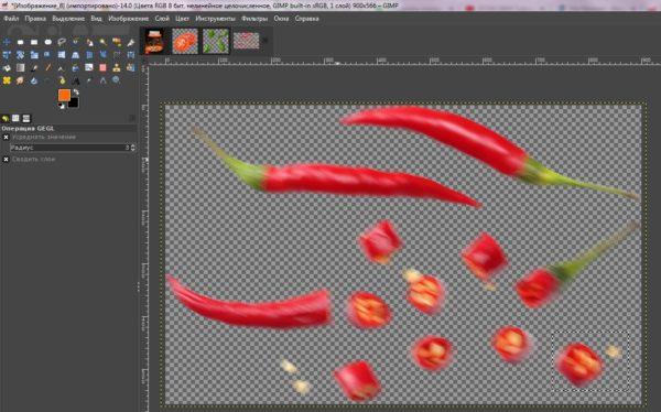 Gimp как работать с изображениями